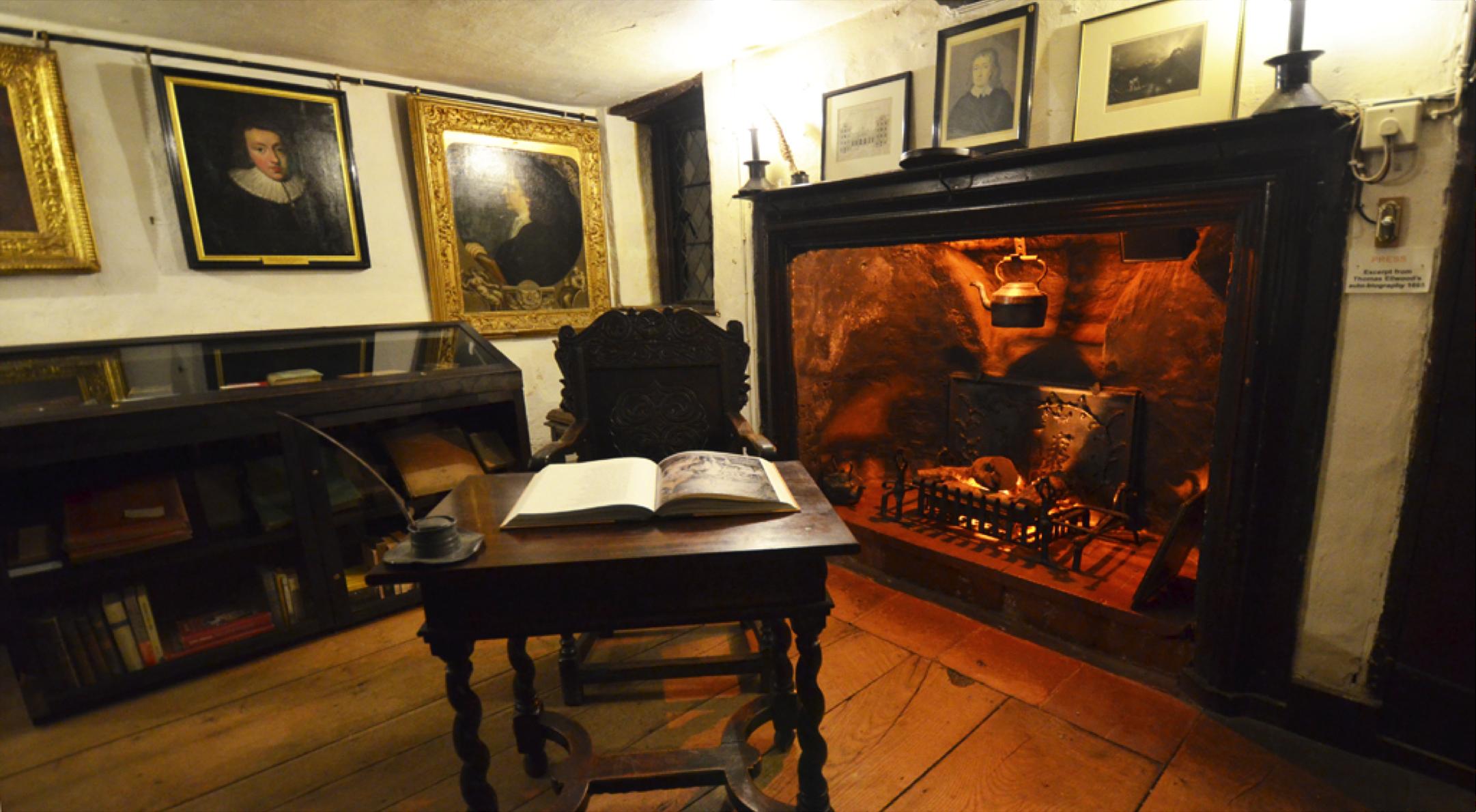 Milton's study