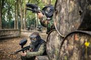 Image of Paintballing in Eccles Forest, Manchester.